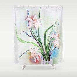 Ikebana I Shower Curtain