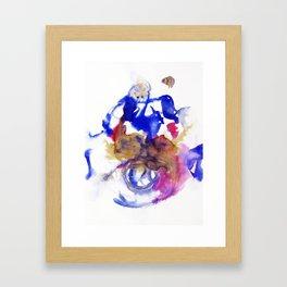 Rorschach - 3 colori Framed Art Print