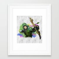 arrow Framed Art Prints featuring arrow by evenstarss