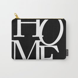 Bold Black & White Home Carry-All Pouch