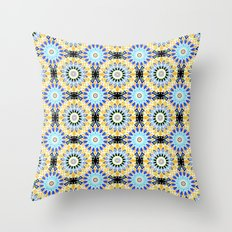 Ethnic Oriental ornament . 2 Throw Pillow