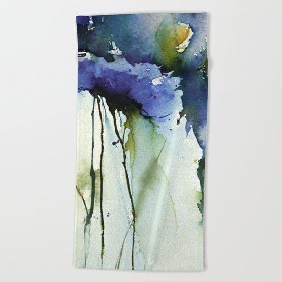 Blue passion Beach Towel
