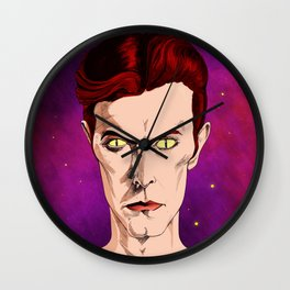 The Man Who Fell Wall Clock