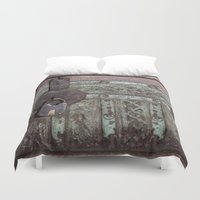 antique Duvet Covers featuring Antique Clasp by Bestree Art Designs