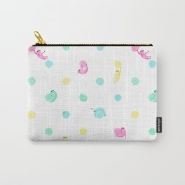 Sloth Dot Carry-All Pouch