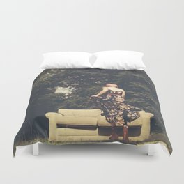 Room(s) With a View Duvet Cover