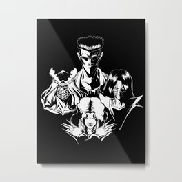 The March of the Toguro Team Metal Print