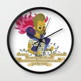 Illustrated Songs - Mojo Pin Wall Clock