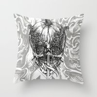 fifth element Throw Pillows featuring element by hueroth