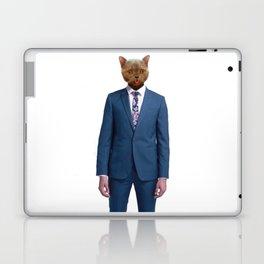 cat goes to work Laptop & iPad Skin