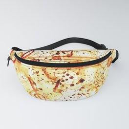 Coffee stains and music notes Fanny Pack
