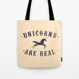 Unicorns Are Real II Tote Bag