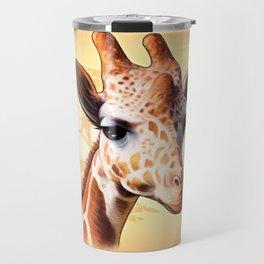 African Jiraff Travel Mug