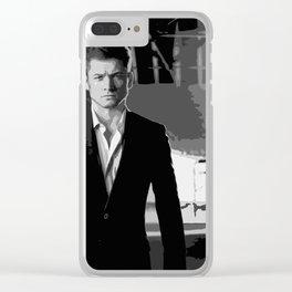 Taron Egerton 10 Clear iPhone Case