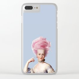 Maria Candy Clear iPhone Case