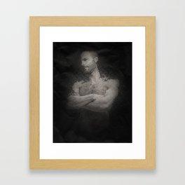 Anchorman Framed Art Print