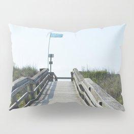 beach access Pillow Sham