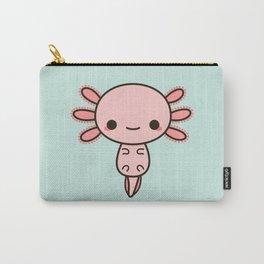 Kawaii axolotl Carry-All Pouch