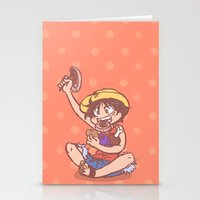 meat Stationery Cards featuring MEAT! by Kessi