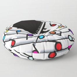 Loop_the_Loop Floor Pillow