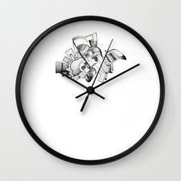 #20 – astratto Wall Clock