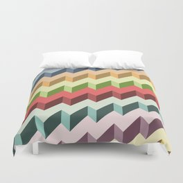 Abstract Shapes Duvet Cover