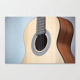 Classical Guitar Canvas Print