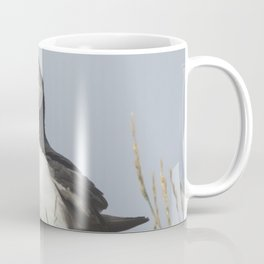 Atlantic puffin bird with a catch of fish Coffee Mug