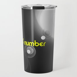 The wolf number Travel Mug
