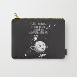 Martian - Scream Like a Little Girl Carry-All Pouch