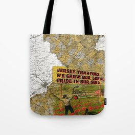 Jersey Tomatoes, We Grow our Pride Tote Bag