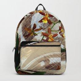 A Brushstroke Of Orchid Genus Backpack