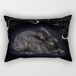 Mr Musket Rabbit Boy Rectangular Pillow