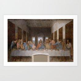 Leonardo da Vinci – Ultima cena – the last supper Art Print