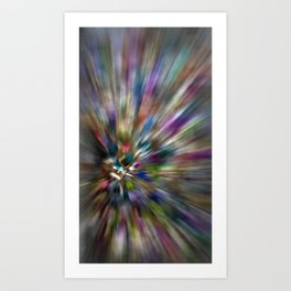 Multicolor Abstract 1 Art Print