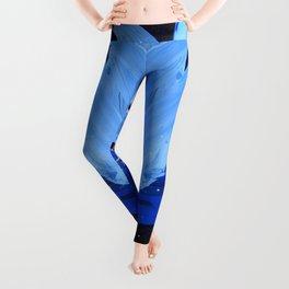 Blue Explosion Leggings