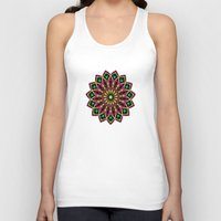 stained glass Tank Tops featuring Stained Glass by Designs By Misty Blue (Misty Lemons)