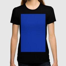 color Egyptian blue T-shirt