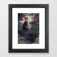 The Hunt - Forest 2 Framed Art Print