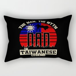 The Man The Myth The Taiwanese Legend Dad Rectangular Pillow