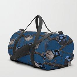 Night fairy wrens Duffle Bag