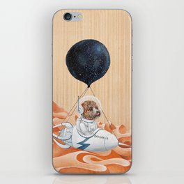Poodle dog - Mission to Mars - Spacex - Space dog iPhone Skin