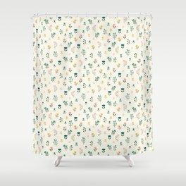 Summer floral pattern Shower Curtain
