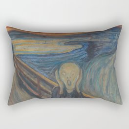 Edvard Munch - The Scream Rectangular Pillow