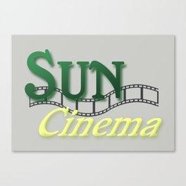Sun Cinema Canvas Print