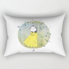 Yuan Wen  Rectangular Pillow