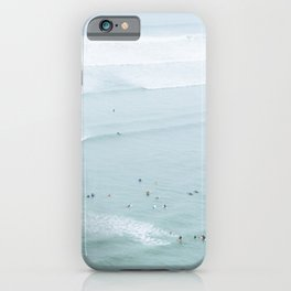 Tiny Surfers from the Sky 5, Lima, Peru iPhone Case