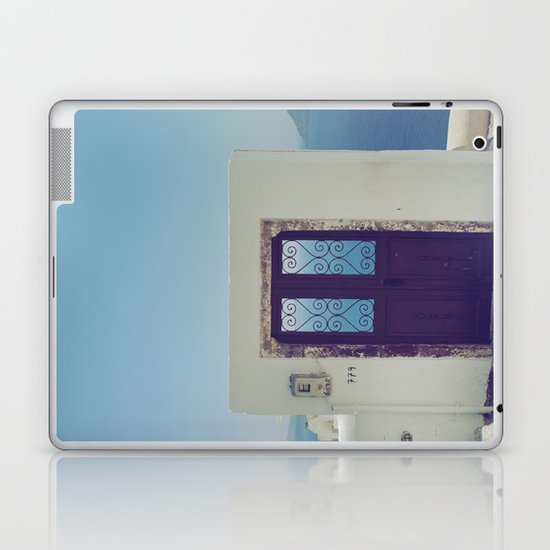 Santorini Door V Laptop & iPad Skin