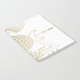 Golden Goddess Mandala Notebook