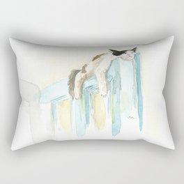 Sleep Like A Cat Rectangular Pillow